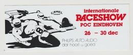Sticker: Formula 1 - Formule 1 Internationale Raceshow POC Eindhoven (NL) Camel-philips Auto Audio - Automobile - F1