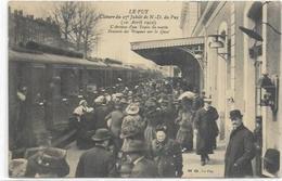 43. LE PUY. ARRIVEE EN GARE DU TRAIN DU MATIN - Le Puy En Velay
