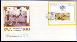 [C5382] SWA - FDC - Postdiensten Met Kameel  -  07-07-1988 - FDC