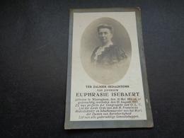 Doodsprentje ( 752 )  Isebaert  -  Waereghem  Waregem  1917 - Obituary Notices