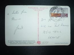 CP Pour La FRANCE VIGNETTE 1900 OBL.25 MAR - Mexiko