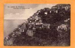 Positano  Italy 1908 Postcard - Otras Ciudades