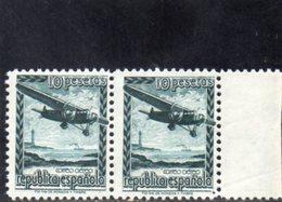ESPAGNE 1938 ** - 1931-50 Nuevos & Fijasellos
