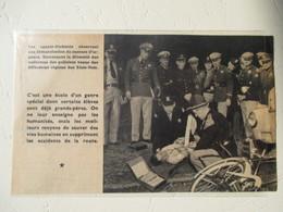 USA - Rencontre Inter Fédération De La Police Américaine -  Demonstration Secours Cycliste   - Coupure De Presse De 1948 - Documents Historiques