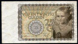 Netherlands  - 25 Gulden 1940 'Prinsesje' - BD 051685 - See The 2 Scans For Condition.(Originalscan ) - [1] …-1815 : Ante Regno