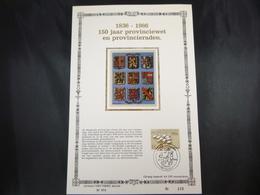 """BELG.1986 2231 FDC Filateliccard Zijde  NL ( Hasselt ) : """" Provincies/Provinces """" - 1981-90"""