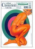 Aslan Publicité Collant Chesterfield Lingerie Femme Pin Up AFP 92 - Aslan