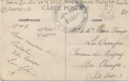 Cachet Militaire : 25  PONTARLIER - Marcophilie (Lettres)