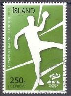 Iceland / Island / Islanda - 2012 Summer Olympic Games, London, Olimpiadi, Sport, Handball Used - Usados