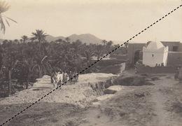 1904 Photo Geiser Alger Maison De Bou Amama à Sli Sliman Figuig Algérie - Luoghi