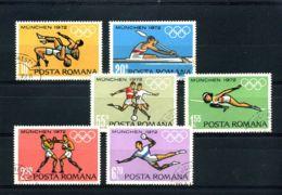 [T1972] Roemenië - Olympische Spelen München - Ete 1972: Munich