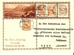 Austria 15/III/1932 Ganzsache  D1248 - Briefe U. Dokumente