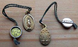 Mada-263  Médaille Miraculeuse Métal Jaune(poinçon) Titre Ultra JB - Religione & Esoterismo