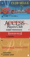 Lot De 3 Cartes : Colorado Belle Casino : Laughlin NV - Casinokarten