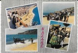Nazare  -  Multi Vues Cachet Poste Avril 1964 - Leiria