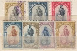PARAGUAY - 1911 - Nrs. MI  188...194 Of Y&T  192....198 - Lotje Van 7 Oude Zegels -  Gestempeld ° - Paraguay