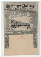 57 METZ JOURNAL LOTHRINGER ZEITUNG DECHIRE PLACE SAINT LOUIS - Metz
