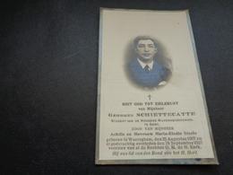 Doodsprentje ( 762 )   Schiettecatte / Steels  -  Waereghem  Waregem  1927 - Obituary Notices