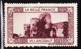 VIGN31 VILLANDROT Vignette De Collection LA BELLE FRANCE 1925s Helio VAUGIRARD PARIS Erinnophilie - Commemorative Labels