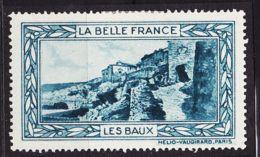 VIGN45 LES BAUX De PROVENCE Vignette De Collection LA BELLE FRANCE 1925s Helio VAUGIRARD PARIS Erinnophilie - Commemorative Labels