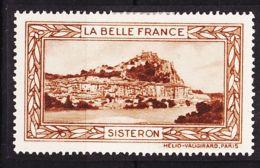 VIGN56 SISTERON Vignette De Collection LA BELLE FRANCE 1925s Helio VAUGIRARD PARIS Erinnophilie - Commemorative Labels