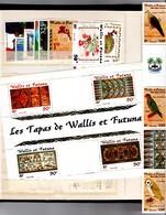Lot Wallis Et Futuna 2001 Neufs (**) Du 548 Au 564 Et BF10 - Wallis-Et-Futuna
