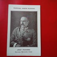 MARECHAL JOSEPH PILSUDSKI - Pologne