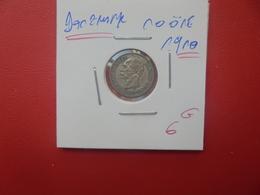 DANEMARK 10 ÖRE 1910 ARGENT (A.7) - Danemark
