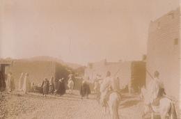1904 Photo L'amel Passant à Zenaga Figuig Algérie - Lieux