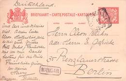 NIEDERL. INDIEN - BRIEFKAART 1909 - BERLIN //ak765 - Niederländisch-Indien
