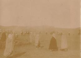 1904 Photo Beni Ounif Figuig Une Fantasia Algérie - Lieux