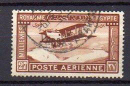 EGYPTE     Oblitérés    Y. Et T.  PA N° 2       Cote: 4,50 Euros - Poste Aérienne