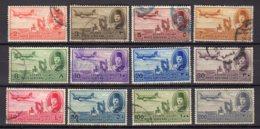 EGYPTE     Oblitérés    Y. Et T.  PA N° 29 / 40       Cote: 6,00 Euros - Poste Aérienne