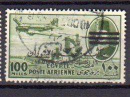 EGYPTE     Oblitérés    Y. Et T.  PA N° 78       Cote: 6,00 Euros - Poste Aérienne