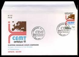 [C2510] Turkije - Transport Conference - - FDC