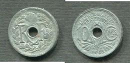 10 CENTIMES 1945 C PETIT MODULE - France
