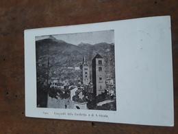 Cartolina Postale 1901, Susa, Campanili Della Forchetta E Di S. Giusto - Italien