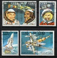 CUBA 1991, Yv. 3106/11, 30 Ans Premier Vol Humain, Gagarine... 6 Valeurs Oblitérés / Used. R352 - Südamerika