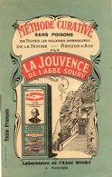 Jouvence De L Abbe SOURY...livret De 14 Pages  Format Carte Postale - Advertising
