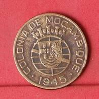 MOZAMBIQUE 1 ESCUDO 1945 -    KM# 74 - (Nº34324) - Mozambique