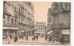 Montpellier - La Rue De La Loge - Vendeur De Cartes Postales -  CPA ° - Montpellier