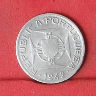 MOZAMBIQUE 2,5 ESCUDOS 1942 - ***SILVER***   KM# 68 - (Nº34325) - Mozambique