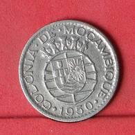 MOZAMBIQUE 1 ESCUDO 1950 -    KM# 77 - (Nº34327) - Mozambique