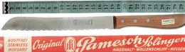 Couteau Messer Knife Original Pamesoh Solingen Dünnschliff (jamais Utilisé, Dans La Boîte D'origine) - Cuchillos