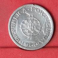 MOZAMBIQUE 5 ESCUDOS 1960 - ***SILVER***   KM# 84 - (Nº34329) - Mozambique