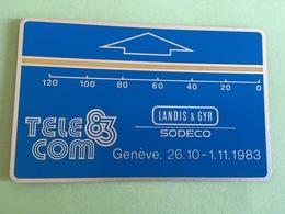 SWITZERLAND Landis & GYR MINT DEMO For Telecom 1983 In Geneva - Suisse
