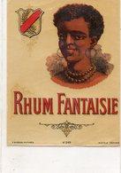 Etiquette De Bouteille De RHUM...RHUM FANTAISIE - Alcools