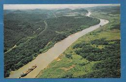 VISTA AEREA DEL CANAL DE PANAMA - Panamá