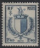 FR 1460 - FRANCE N° 734 Neuf** 1er Choix Blason De Metz - France