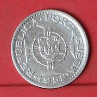 GUINÉ 20 ESCUDOS 1952 - ***SILVER***   KM# 11 - (Nº34335) - Guinea Bissau